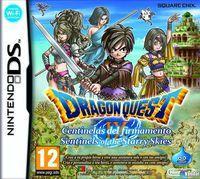 Portada oficial de Dragon Quest IX: Centinelas del firmamento para NDS
