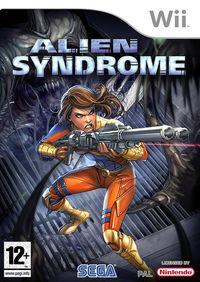 Portada oficial de Alien Syndrome para Wii