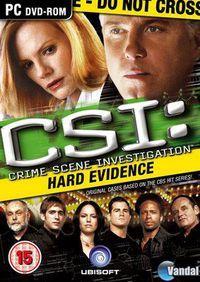 Portada oficial de CSI Pruebas Ocultas para PC