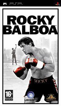 Portada oficial de Rocky Balboa para PSP