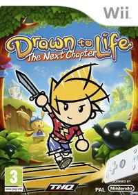 Portada oficial de Drawn to Life: The Next Chapter para Wii