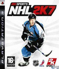 Portada oficial de NHL 2K7 para PS3