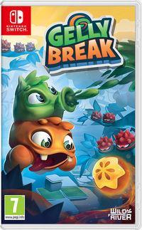 Portada oficial de Gelly Break para Switch