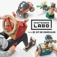 Portada oficial de Nintendo Labo Toy-Con 03 - Kit de vehículos para Switch
