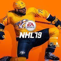 Portada oficial de NHL 19 para PS4