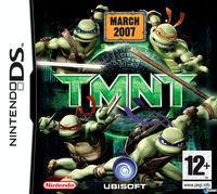 Portada oficial de Tortugas Ninja para NDS