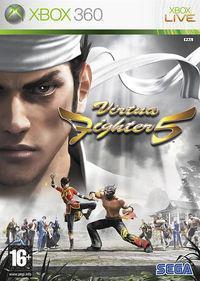 Portada oficial de Virtua Fighter 5 para Xbox 360