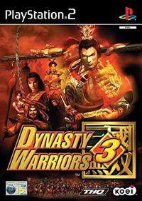 Portada oficial de Dynasty Warriors 3 para PS2