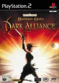 Portada oficial de Baldur's Gate: Dark Alliance para PS2