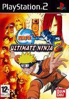 Portada oficial de de Naruto: Ultimate Ninja 2 para PS2