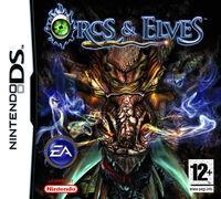 Portada oficial de Orcs and Elves para NDS