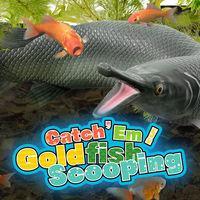 Portada oficial de Catch 'Em! Goldfish Scooping para Switch