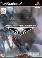Portada oficial de de Zone of the Enders para PS2