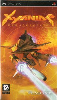 Portada oficial de Xyanide – Resurrection para PSP