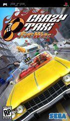 Portada oficial de de Crazy Taxi: Fare Wars para PSP