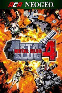 Portada oficial de NeoGeo Metal Slug 4 para Xbox One