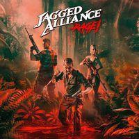 Portada oficial de Jagged Alliance: Rage! para PS4