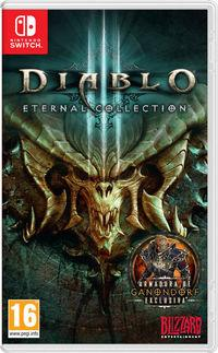 Portada oficial de Diablo III: Eternal Collection para Switch
