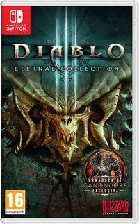 Portada oficial de Diablo III: Eternal Collection para Switch