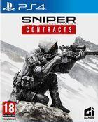 Portada oficial de de Sniper Ghost Warrior Contracts para PS4