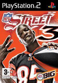 Portada oficial de NFL Street 3 para PS2
