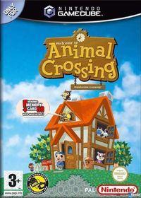 Portada oficial de Animal Crossing para GameCube