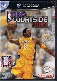 Portada oficial de NBA Courtside 2002 para GameCube