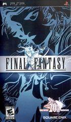 Portada oficial de de Final Fantasy: Anniversary Edition para PSP