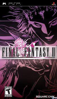 Portada oficial de Final Fantasy 2: Anniversary Edition para PSP