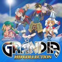 Portada oficial de Grandia HD Collection para Switch