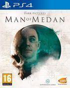 Portada oficial de de Man of Medan para PS4
