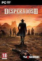 Portada oficial de de Desperados III para PC