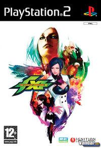 Portada oficial de King of Fighters XI para PS2