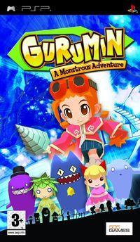 Portada oficial de Gurumin: A Monstrous Adventure para PSP