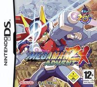 Portada oficial de Megaman ZX Advent para NDS