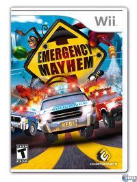 Portada oficial de Emergency Mayhem para Wii