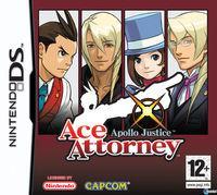 Portada oficial de Ace Attorney: Apollo Justice para NDS