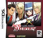 Portada oficial de de Ace Attorney: Apollo Justice para NDS