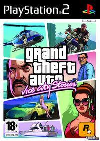 Portada oficial de Grand Theft Auto: Vice City Stories para PS2
