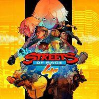 Portada oficial de Streets of Rage 4 para PS4