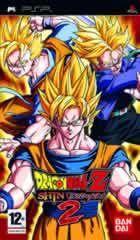 Portada oficial de de Dragon Ball Z: Shin Budokai 2 para PSP