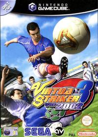 Portada oficial de Virtua Striker 3 version 2002 para GameCube