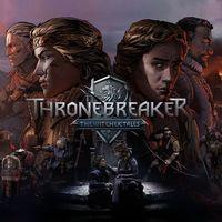 Portada oficial de Thronebreaker: The Witcher Tales para PS4
