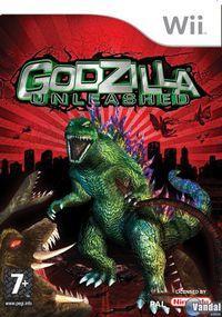 Portada oficial de Godzilla: Unleashed para Wii