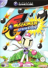 Portada oficial de Bomberman Generations para GameCube