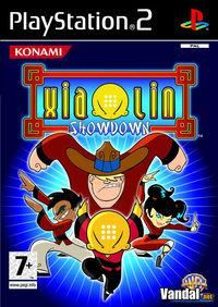 Portada oficial de Xiaolin Showdown para PS2