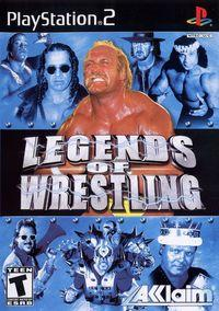 Portada oficial de Legends of Wrestling para PS2
