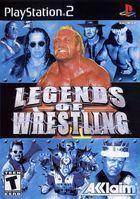 Portada oficial de de Legends of Wrestling para PS2