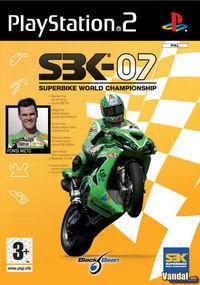 Portada oficial de SBK 07 - Superbike World Championship para PS2