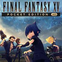 Portada oficial de Final Fantasy XV: Pocket Edition HD para PS4